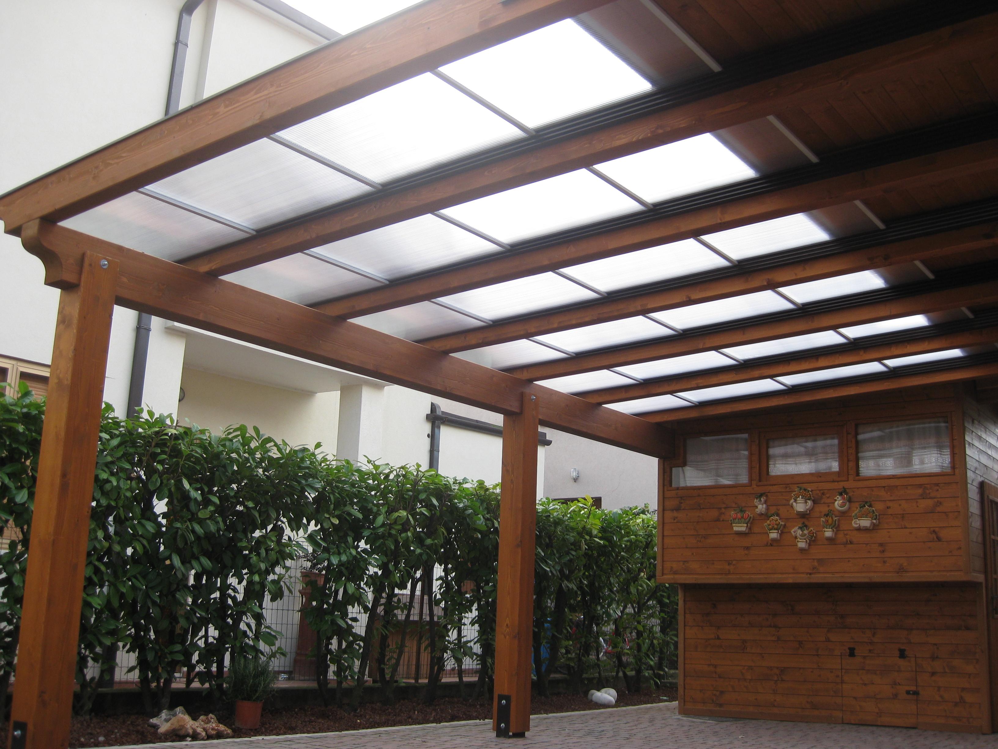 Policarbonato legno iata group srl for Onduline per tettoie